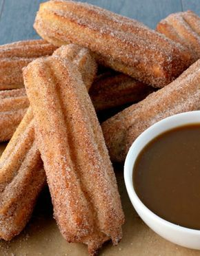 Baked churros recipe - Everyday Dishes & DIY