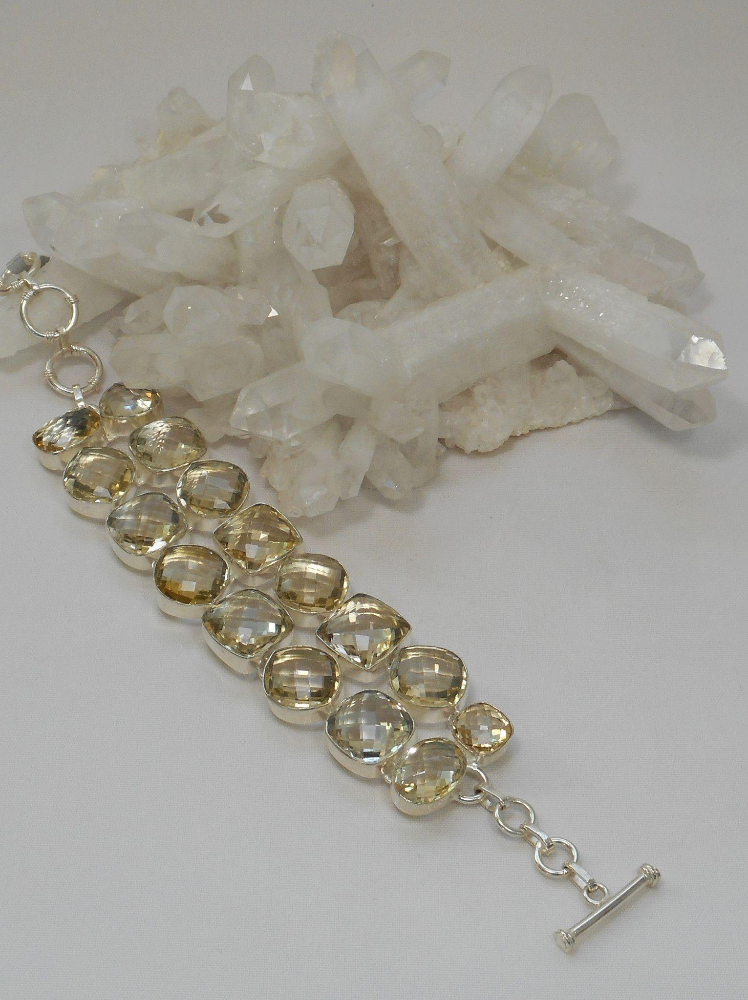 Lemon Citrine Bracelet.