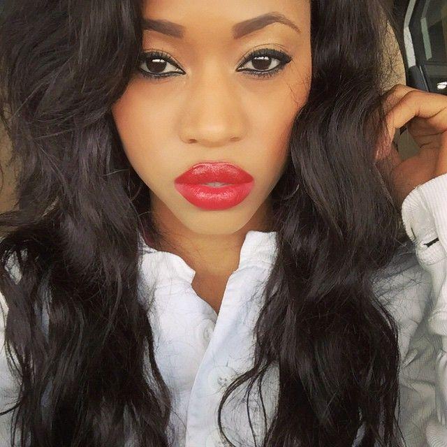 IG: @jubilee1991 | Lip & eye makeup