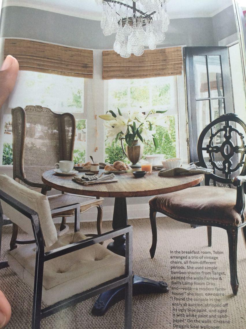 Odd Chairs Odd Chairs Around Dining Table  Decor  Pinterest  Tavoli Da