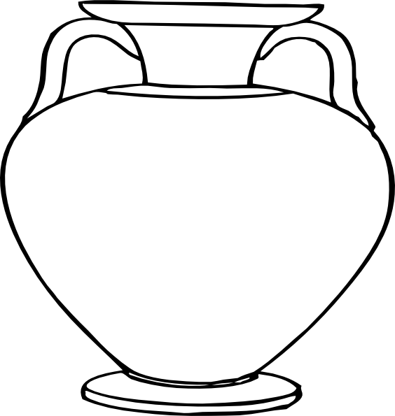 Flower Outlines for Coloring | Large Vase clip art - vector clip art on flower spring outline, hibiscus flower outline, flower book outline, flower planter outline, flower house outline, exotic flower outline, flower box outline, jar outline, flower print outline, flower sign outline, flower painting outline, flower white outline, flower cross outline, flower wall outline, flower plant outline, antique flower outline, flower garden outline, flower wreath outline, flower tree outline, grecian urn outline,