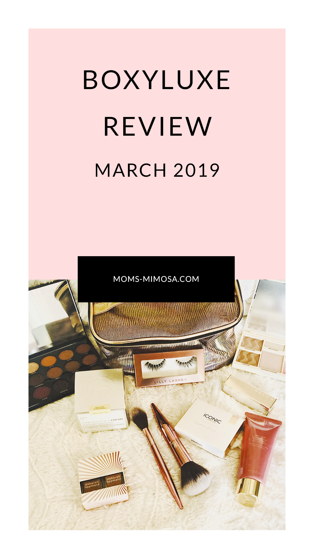 March 2019 BoxyLuxe Confidence in a cream, All things