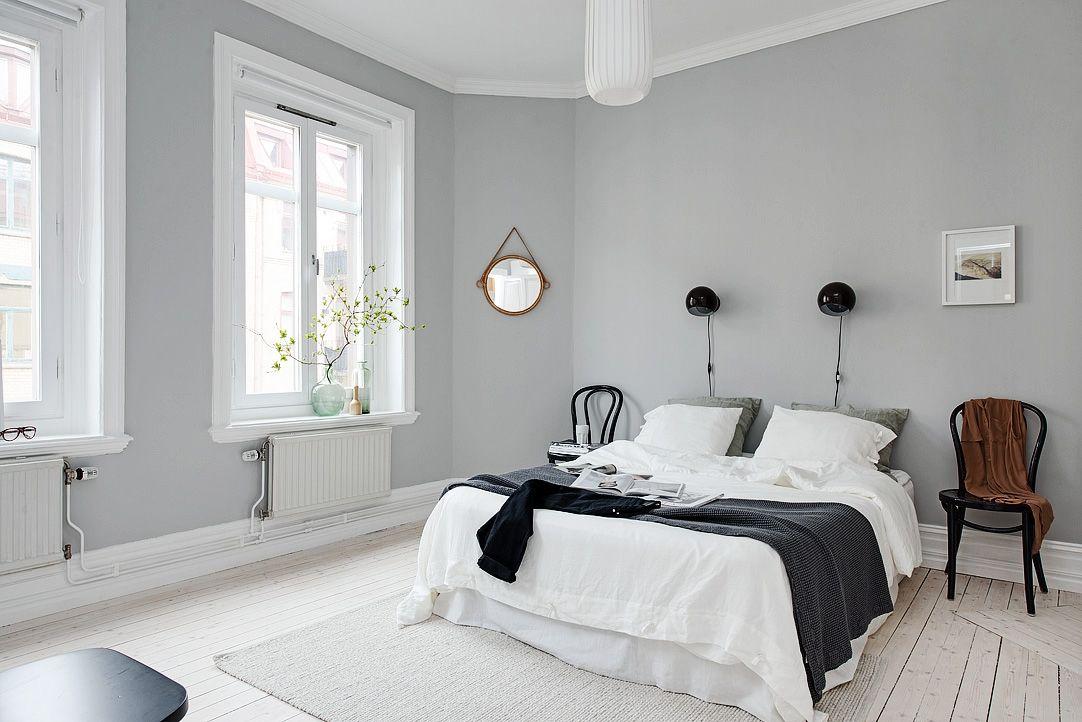 minimalist swedish bedroom (sovrum) Bedroom Project Pinterest Sovrum, Inredning och Färg