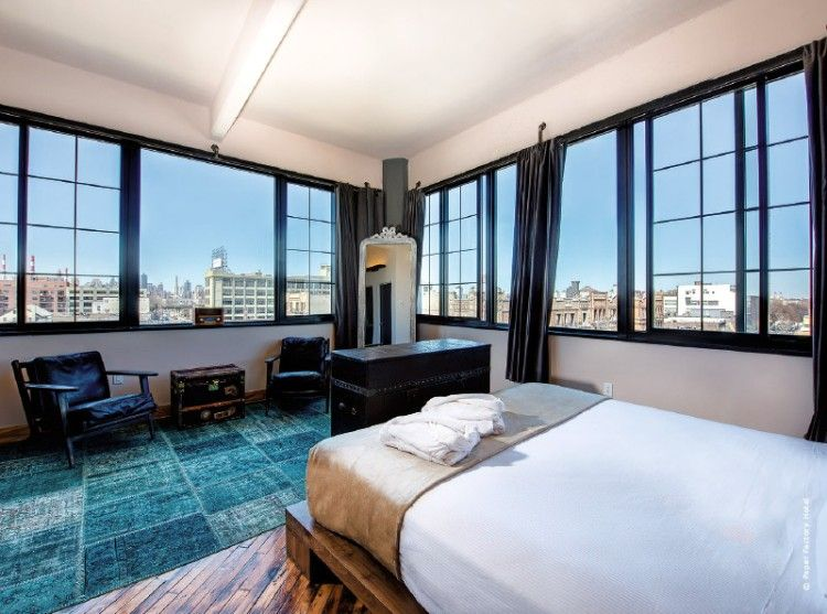 pack your bags top 5 industrial hotel designs around the world in the borough of queens the vintage industrial style hotel has its fair share of exposed