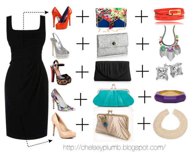 Style By Chelsey 5 Diffe Ways To Wear A Black Dress