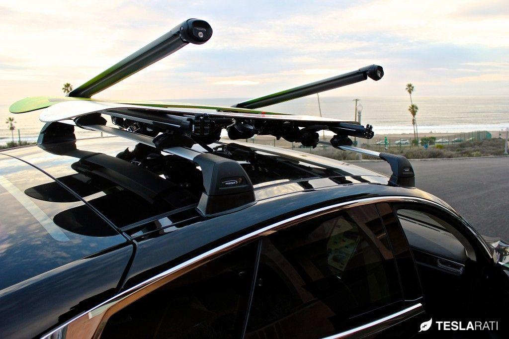 Tesla Model S Roof Rack System (Whispbar) Review Roof