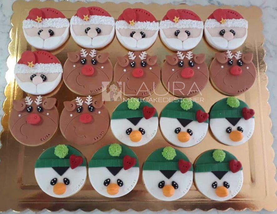 Segnaposto Natalizi Biscotti.Biscottini Natalizi Segnaposto Lavori Dolci Di Natale Cookies