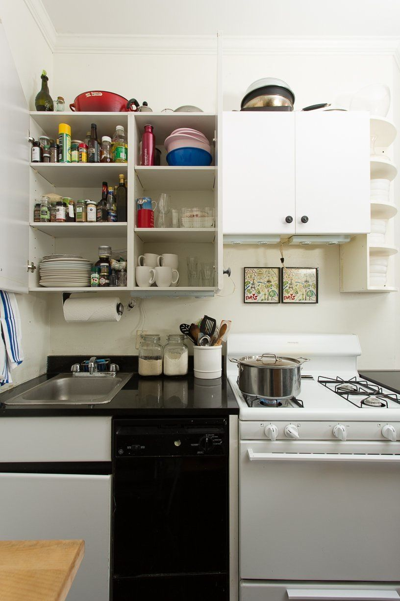 8 Smart Ways to Make More Space in a Small Kitchen | Pinterest ...