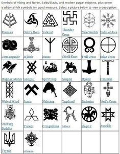 Rune Meanings Precise Meaning Most Norse Designs Symbols Viking