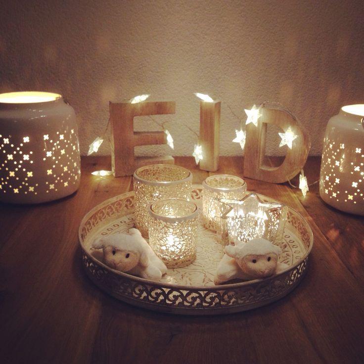 20 Wonderful Eid Mubarak Ideas: Eid Decoration Ideas
