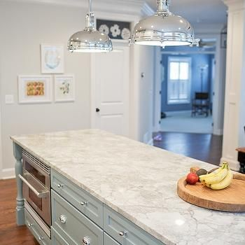 Best Vermont White Granite Countertops Transitional Kitchen 640 x 480