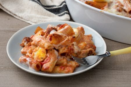 Photo of Baked pasta