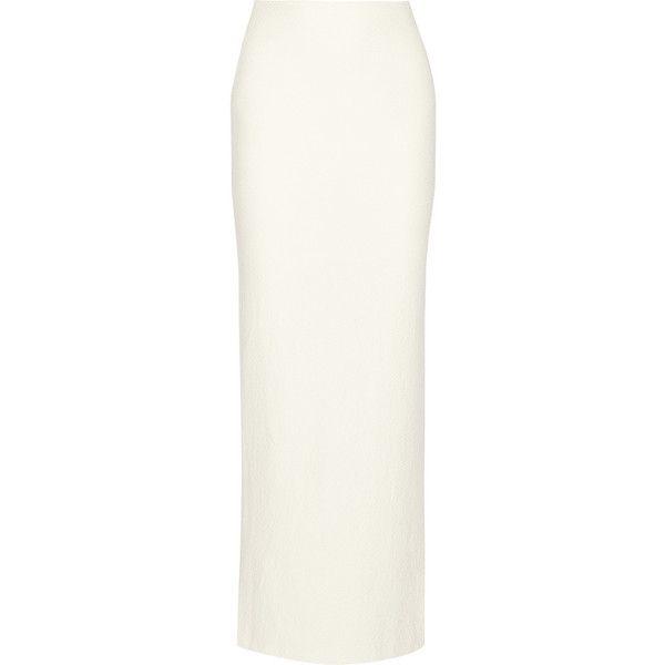Alice   Olivia Misha textured-jersey maxi skirt (£265) ❤ liked on ...