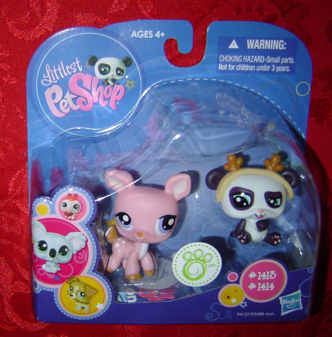 Littlest Pet Shop Deer Panda 1413 1414 Lps Pet Shop Littlest Pet Shop Lps Pets