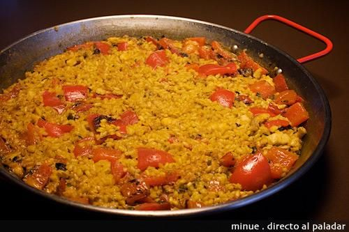 Arroz con bacalao receta recetas - Arroz con bacalao desmigado ...