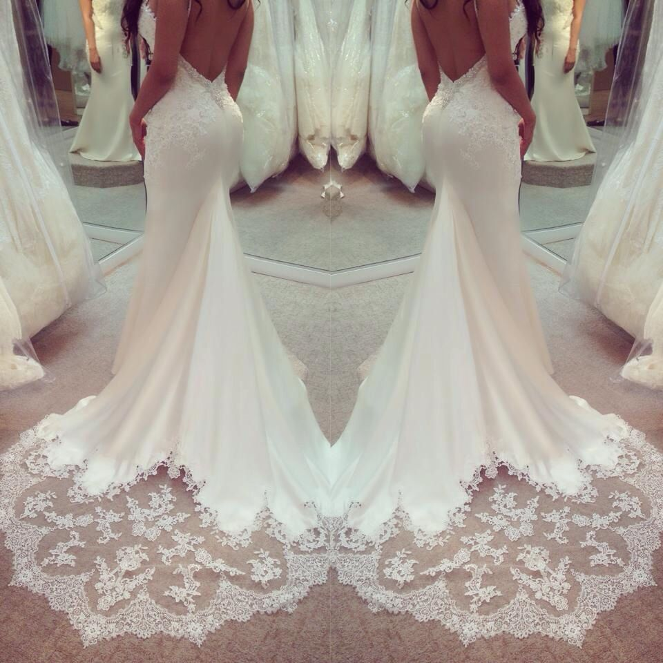 Pin by amy linsley on dresses pinterest backless wedding