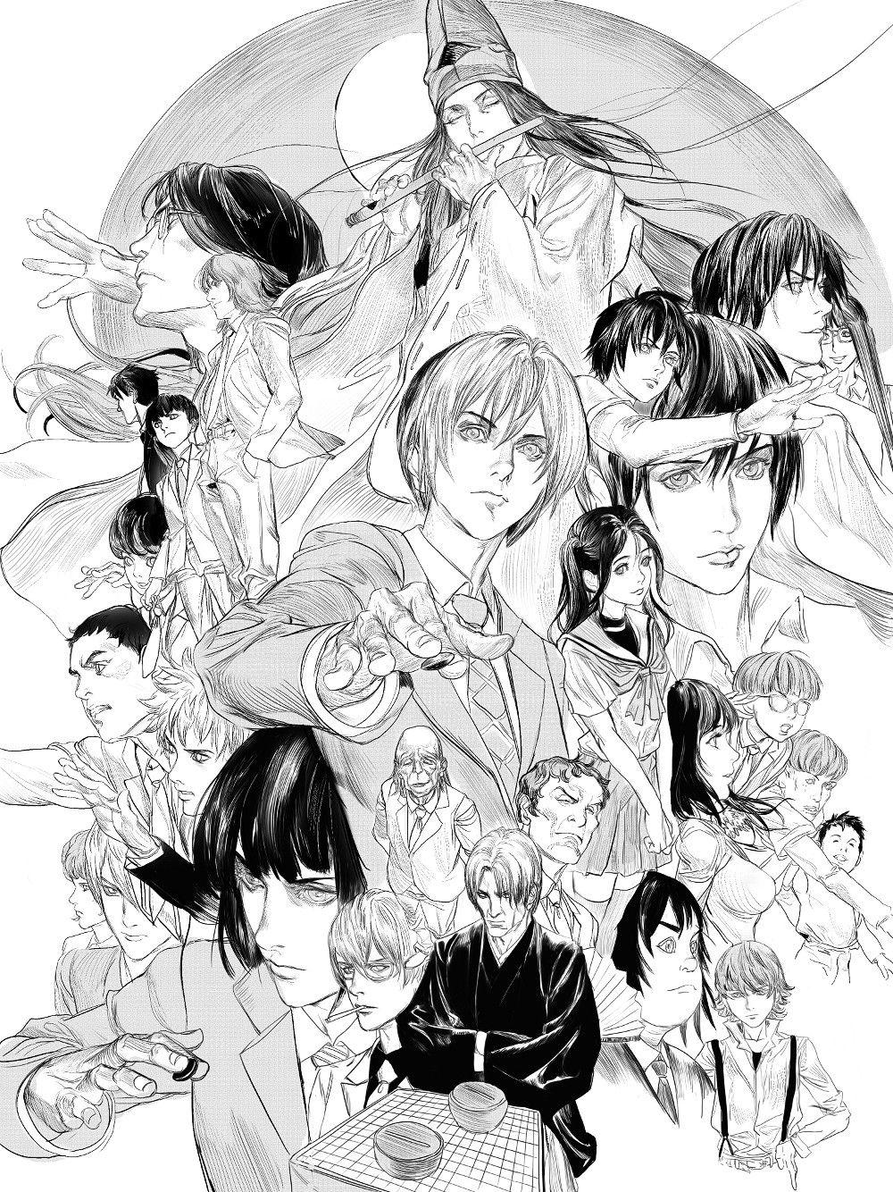 (10 )HikaruNoGo ( Fan Art ), MICHAEL CHANG on ArtStation