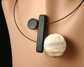 Turns Necklace 7 by BlueDonya on Etsy