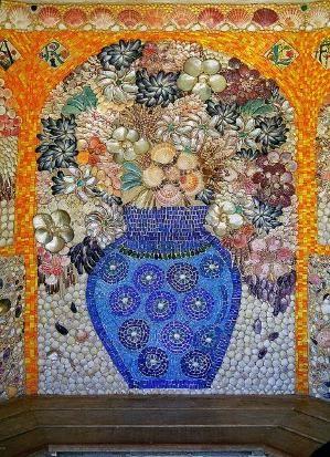 Garden mosaic design made from sea ss by tina66 | FLOWERS ... on mosaic bonsai, mosaic flower gardens, mosaic garden bed, mosaic and stone furniture, mosaic arts and crafts projects, mosaic art designs, mosaic herb garden, mosaic furniture ideas, mosaic terracotta pots, mosaic patio designs,