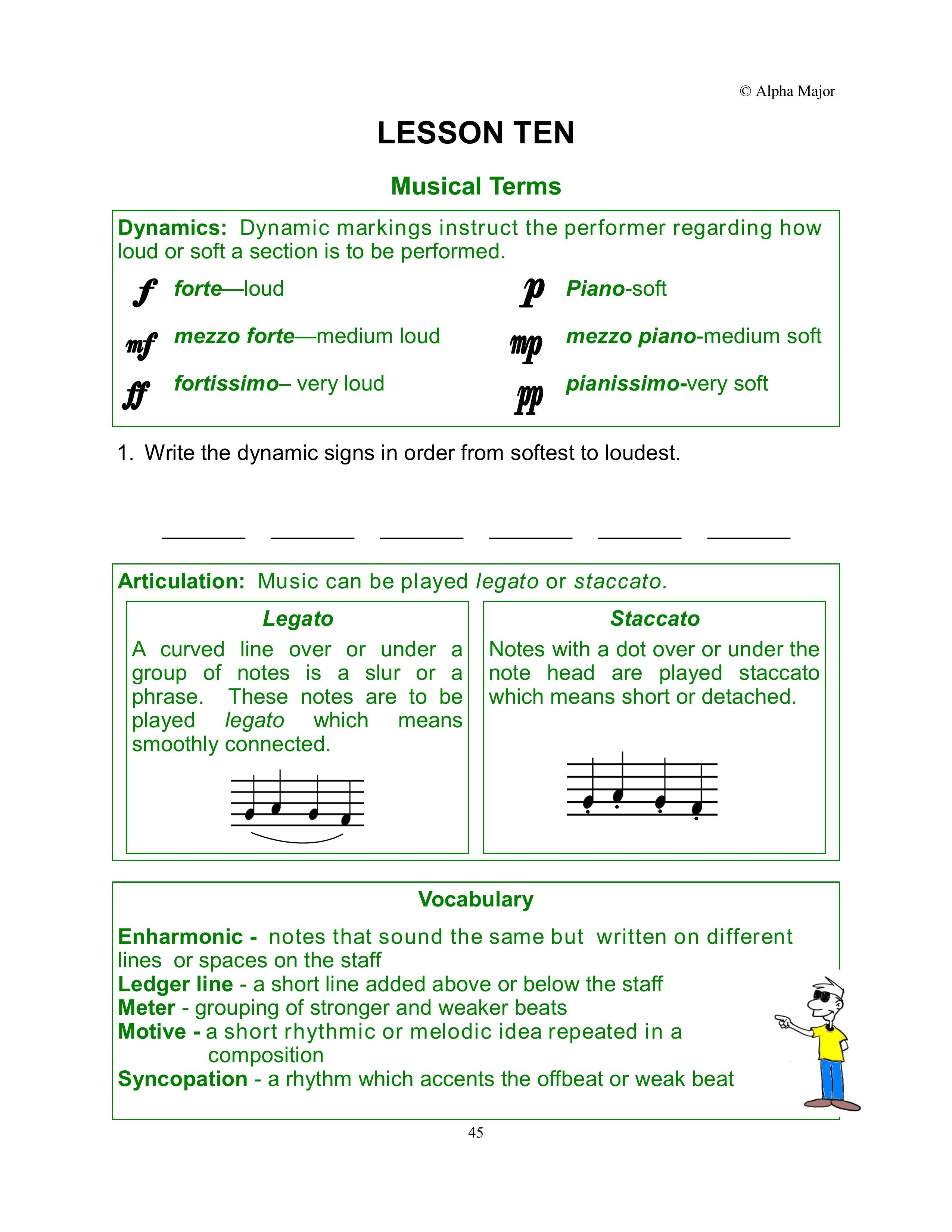 Movin With Theory Grade 5 Musical Terms This Page Is A