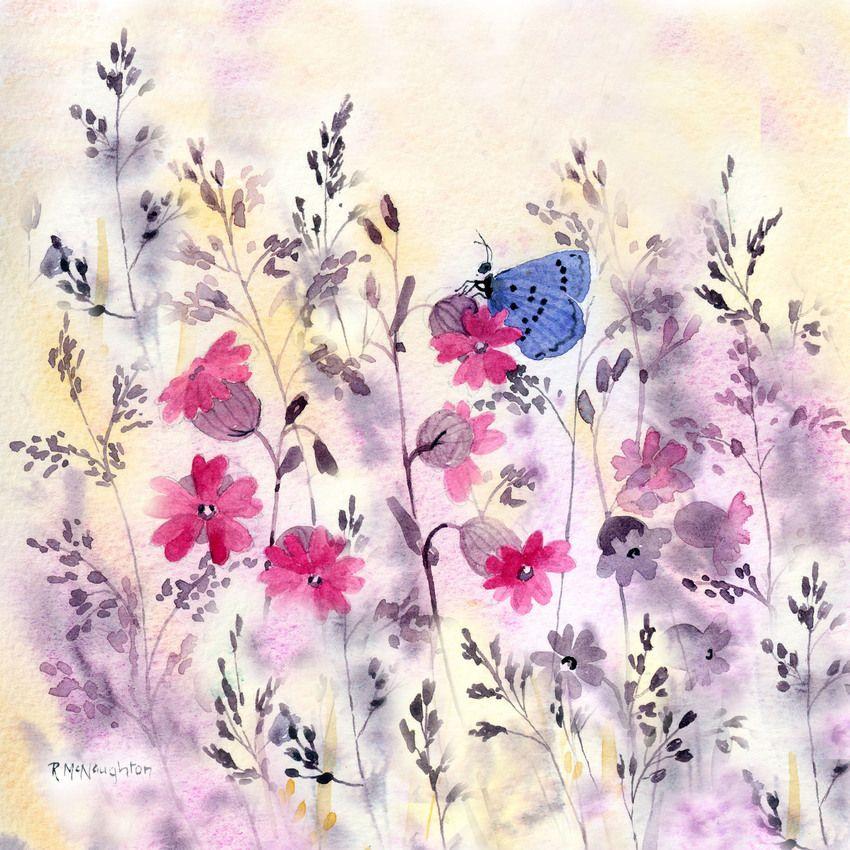 Rachel Mcnaughton Advocate Art Butterflies Jpg Art Blue