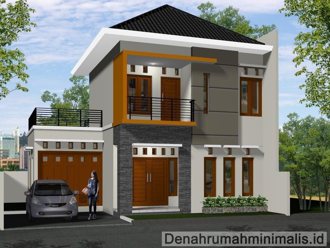 Desain Rumah Minimalis 2 Lantai 2016 Desain Rumah Minimalis 2 Lantai Type 36 36 6 21 21 60 45 90 Desain R Rumah Minimalis Dekorasi Minimalis Desain Rumah