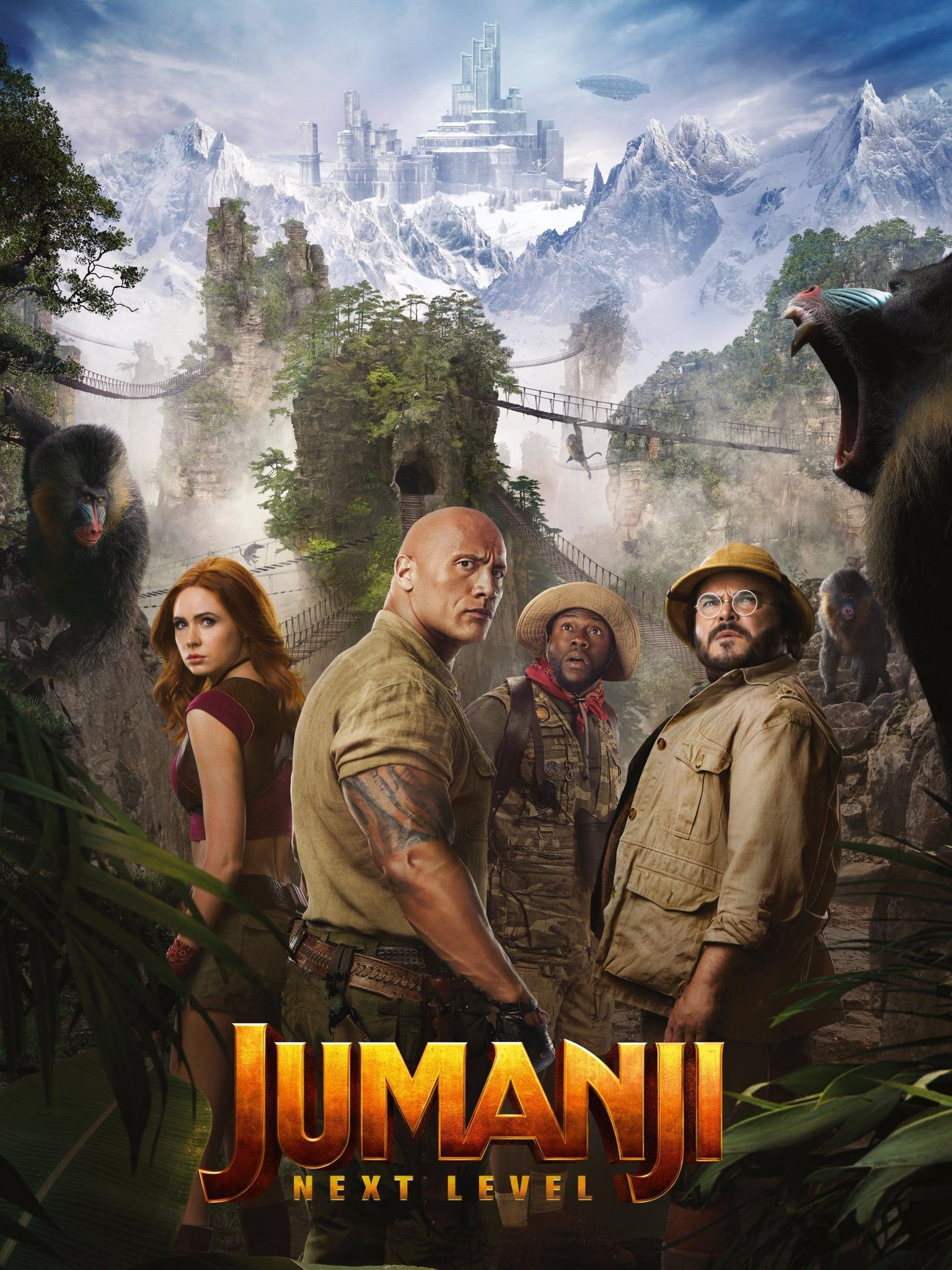 Watch Jumanji 2 The Next Level Dual Audio English And Hindi Dubbed In 2020 Download Movies Movies Online Free Movies Online