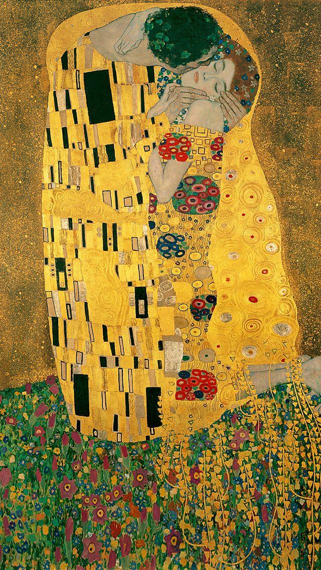 El beso - Klimt | Varieté | Pinterest | Klimt, El beso y Besos