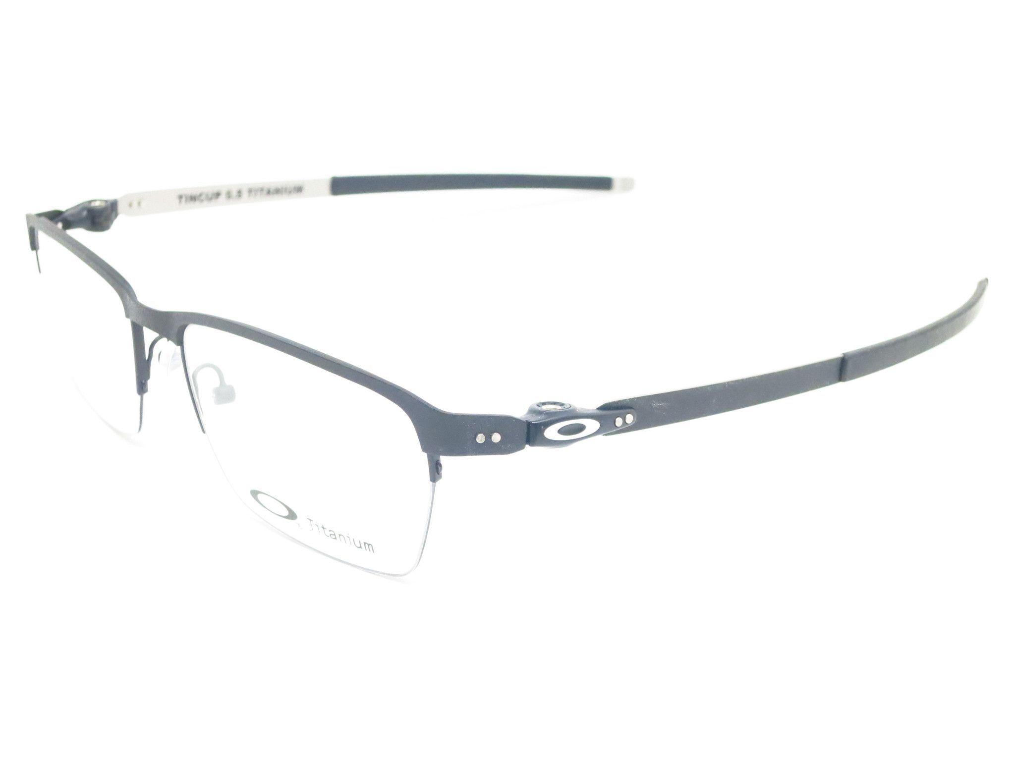 da10dc23a6 Oakley TinCup 0.5 Ti OX5099-0153 Powder Cole Eyeglasses