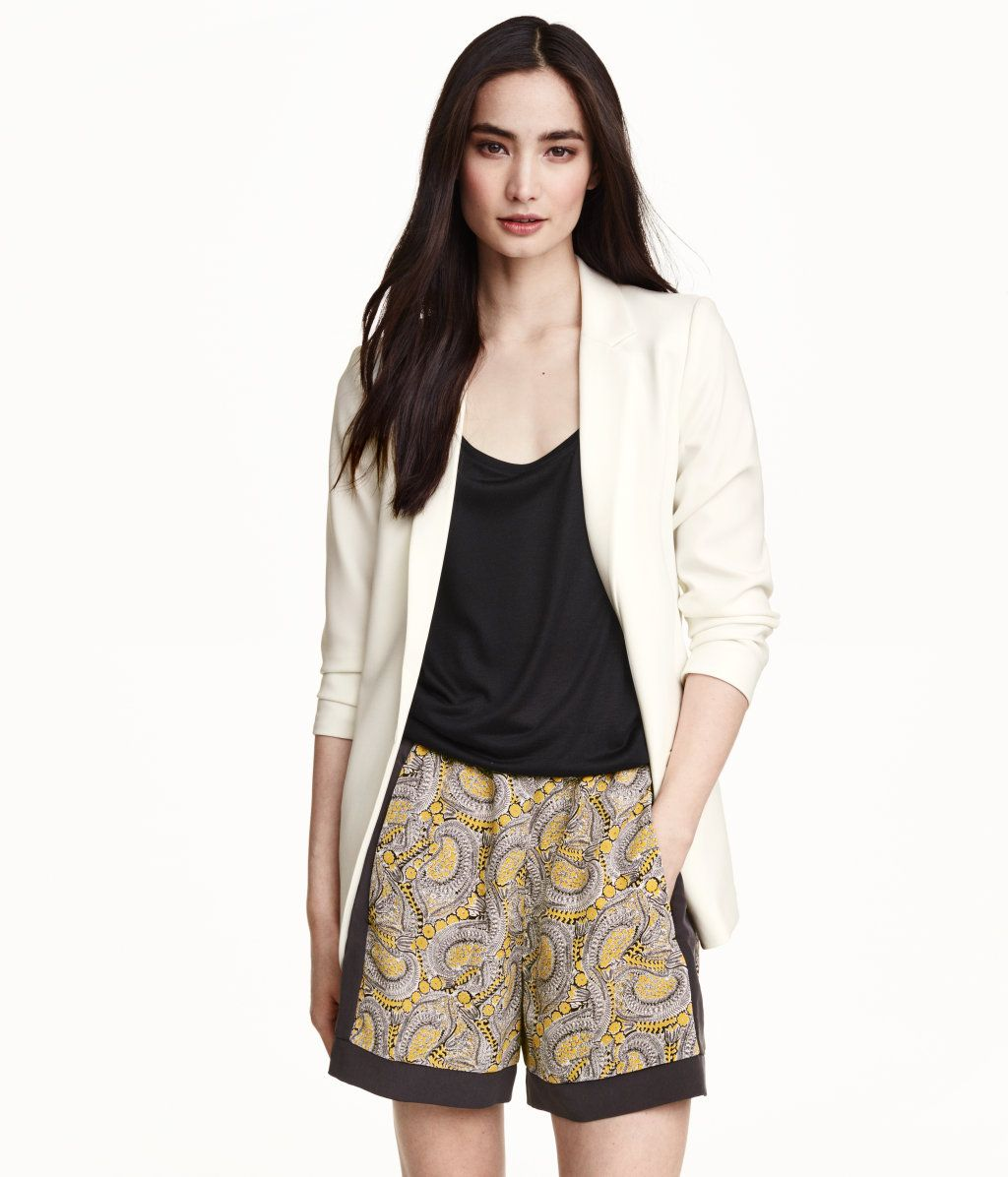 Patterned shorts | Product Detail | H&M
