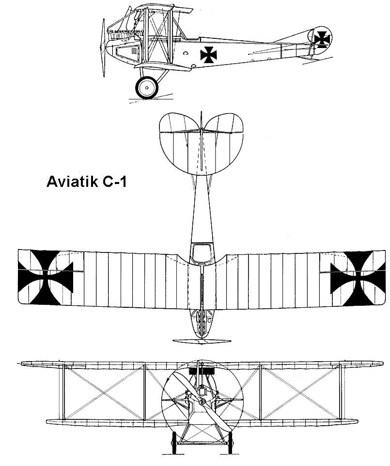 Albatros DXI Blueprint Blueprints T Aircraft Airplane And