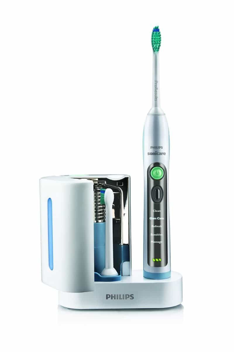 how to use electric toothbrush sonicare