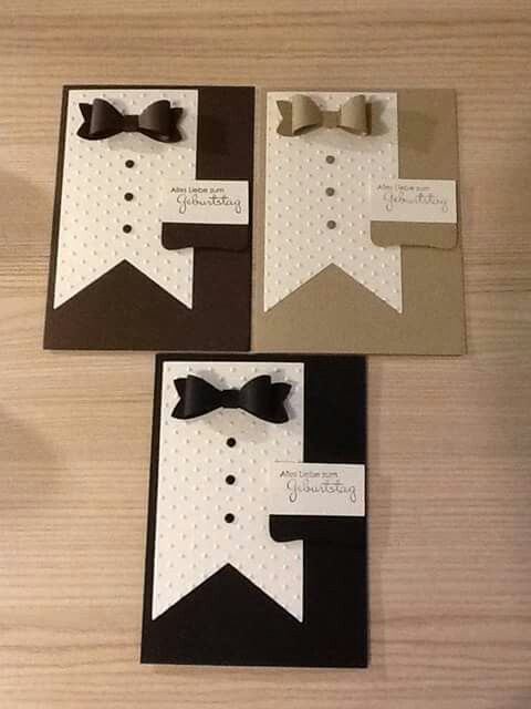Boy Cards Mens Cute Stampin Up Male Birthday