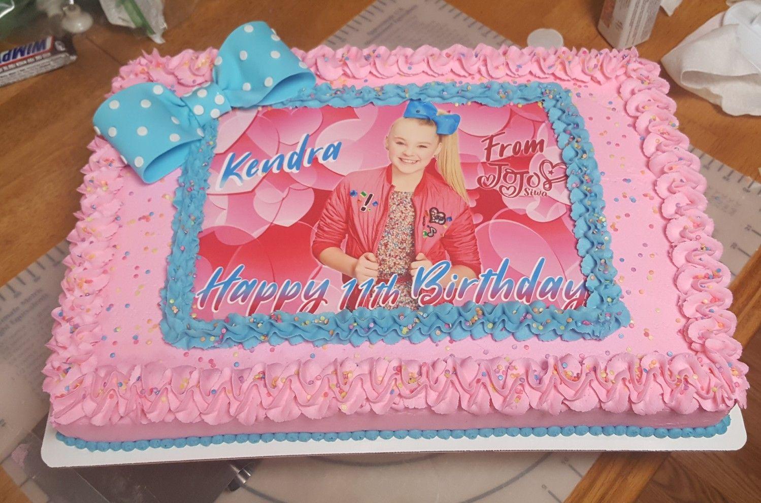 Jojo Siwa Cake With Images Jojo Siwa Birthday Jojo Siwa