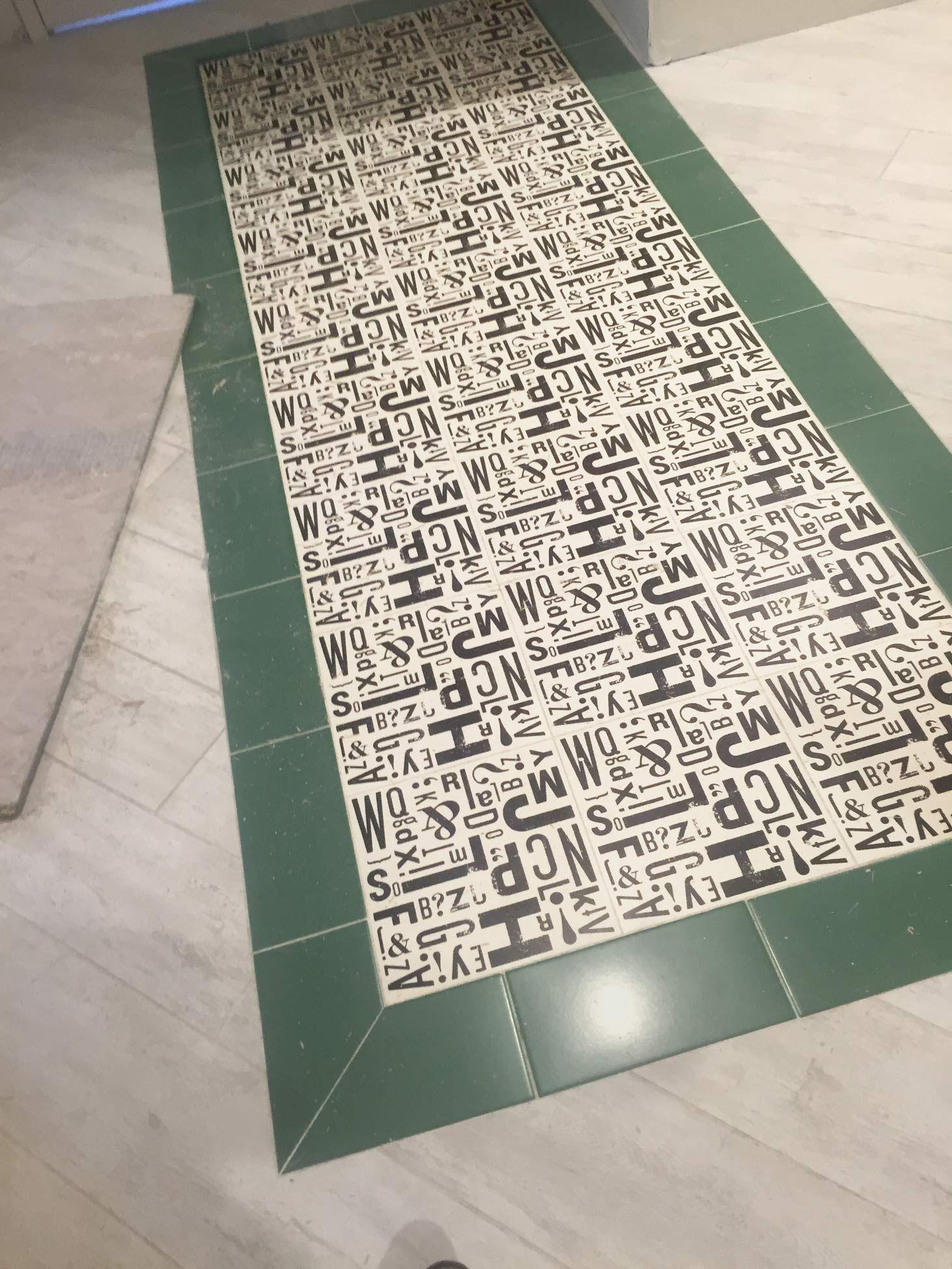 Custom Floor Tile Medallion Image For Porcelain Floor Tile