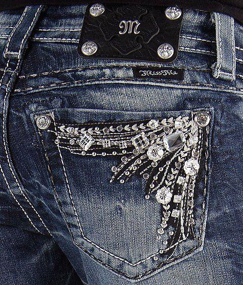Miss Me Glitz Boot Stretch Jean - Women's Jeans in