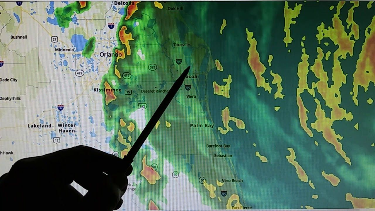 9 3 2019 Dorian Moving Nnw Superheating Occurring On West Side Of Stor Bahamas Island Satellite Maps