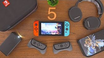 5 MUST HAVE Nintendo Switch Accessories! - YouTube