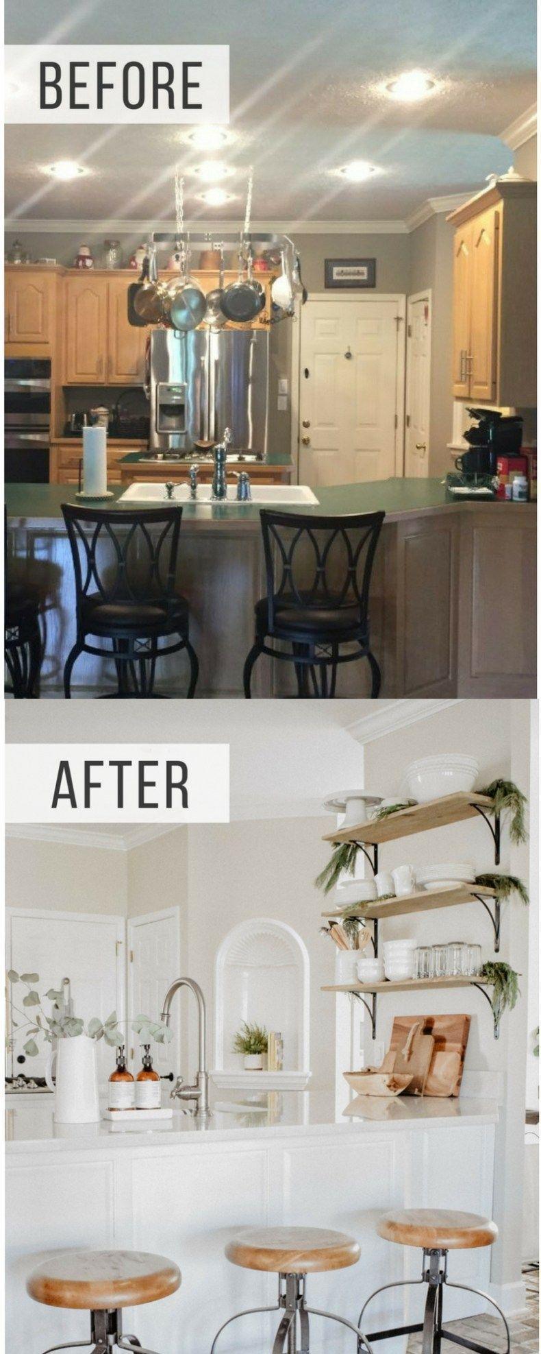 Kitchen renovation kitchen makeover kitchen renovation before and