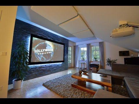 Dolby Atmos, coole Optik, großes Bild Vorstellung Kundenheimkino - großes bild wohnzimmer