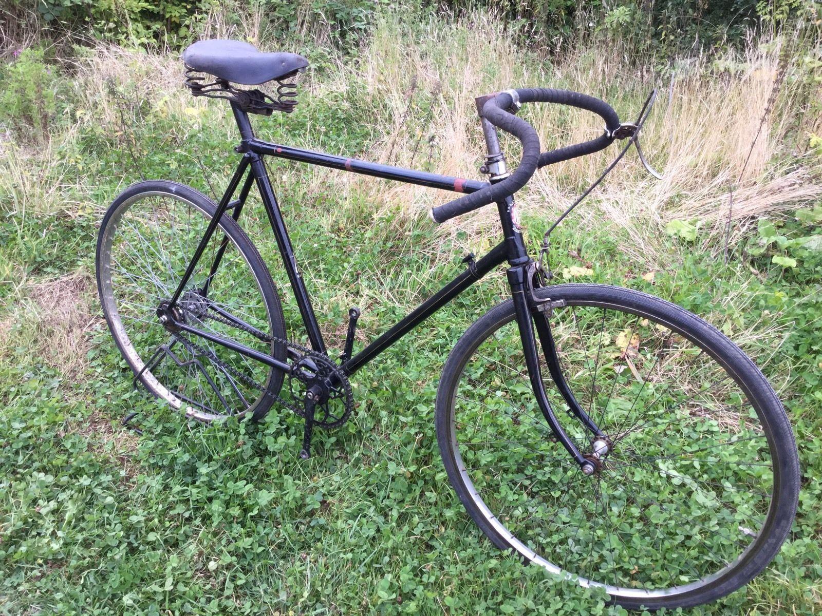 Vintage Bicycle 1930 S Bsa Racing Bike Ebay Vintage Bicycles Bicycle Racing Bikes