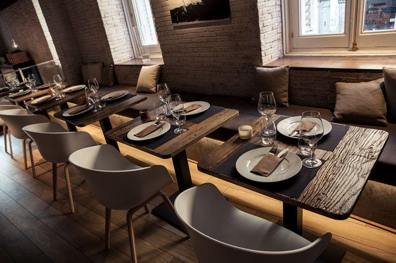 Tiendas De Muebles En Zafra : Restaurante sexto commercial interiors sillas