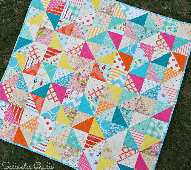 Saltwater Quilts Baby Quilts Quilts Colorful Quilts