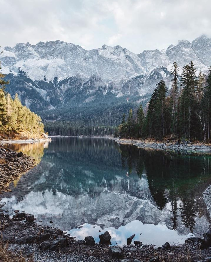 Eibsee Bayern Germany Which City To Travel Paisajes Ciudades The Globe