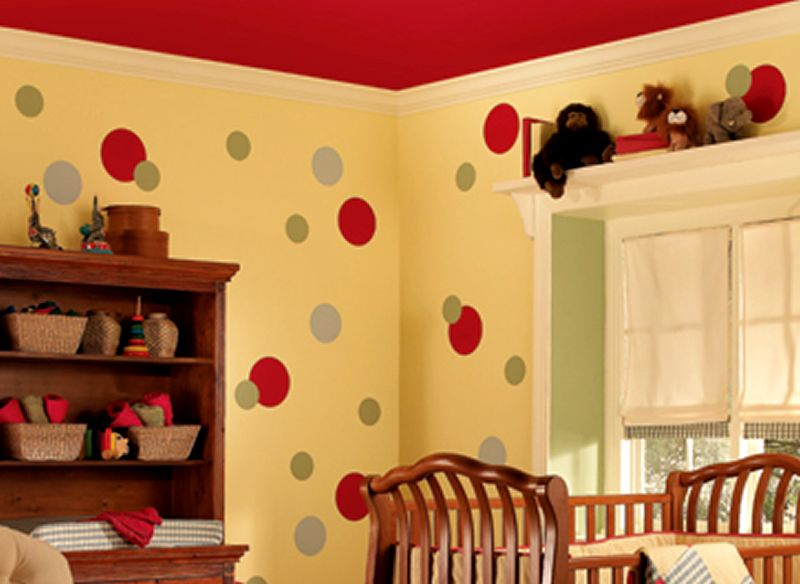 Children spend a lot of time in this Kids Room Paint Color Ideas ...