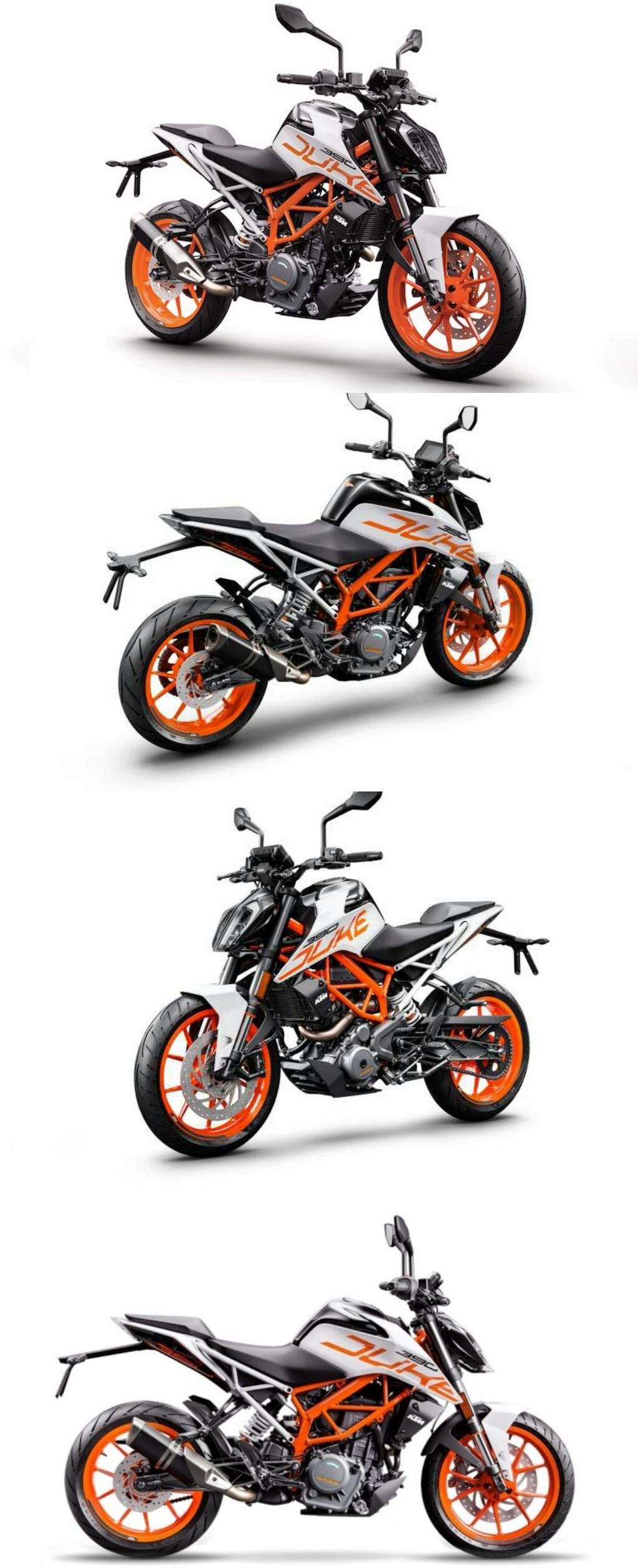2018 Ktm Duke 390 Available To Purchase In White In India Ktm