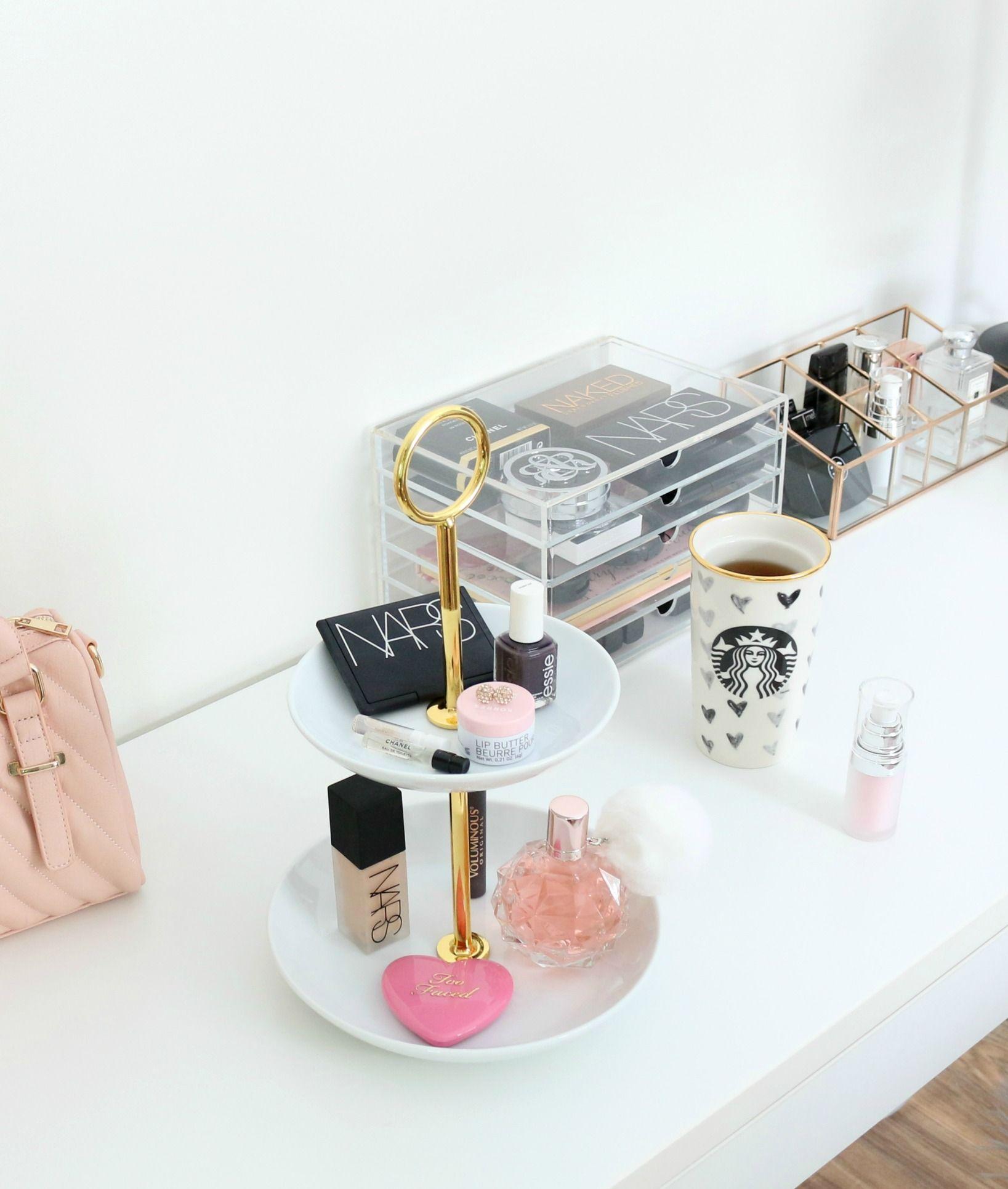 Target Tiered Stand Makeup Storage Beauty Storage Good Makeup