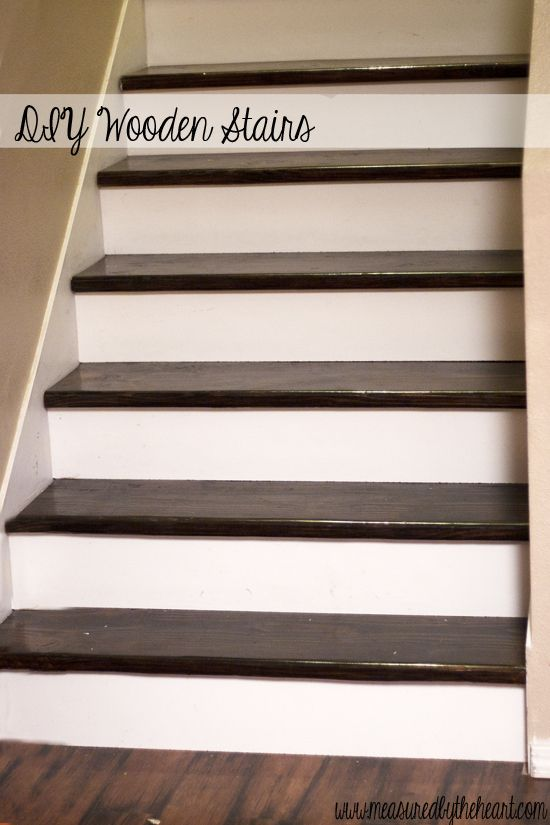 How To Install Hardwood Stairs With Images Hardwood Stairs