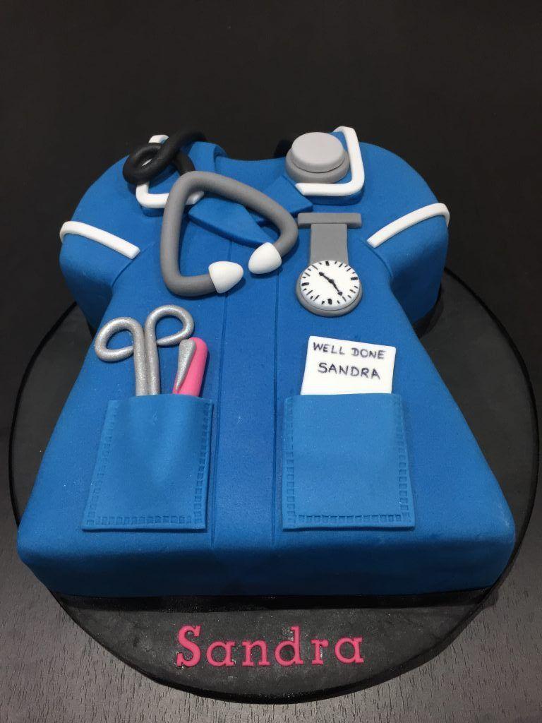 Nursing Graduation Cake Retirement Occupation Cake Ideas Pinterest Nursing