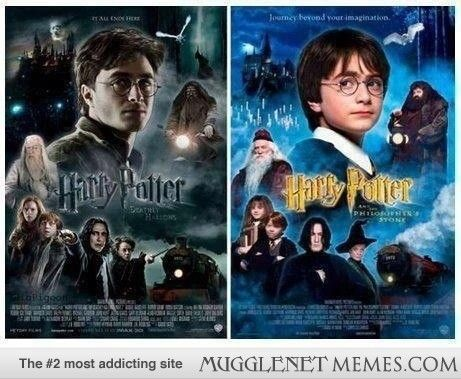 The Difference Between Young And Old Harry Potter Obsession Harry Potter Harry Potter Series